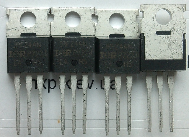 IRFZ44N оригинал транзистор полевой купить. Оболонь Киев Харьков Львов Одесса Днепр Запорожье Полтава Сумы Луцк