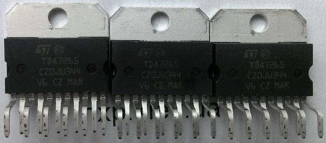 TDA7265 u0430u043du0430u043bu043eu0433.