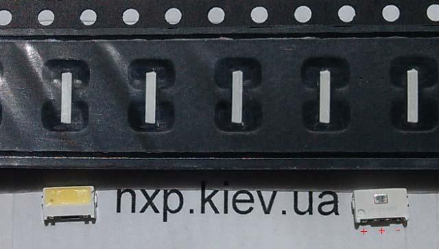 LED LUMENS 5030 3V 150ma LED для телевизора купить. Оболонь Киев Харьков Львов Одесса Днепр Запорожье Полтава Сумы Луцк